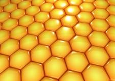 The honey world Stock Images