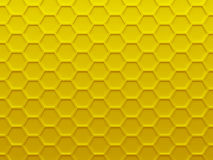 Honey yellow geometric background texture Royalty Free Stock Photography