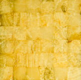 Honey yellow marble mosaic Royalty Free Stock Photography