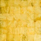 Honey yellow marble mosaic Royalty Free Stock Photography