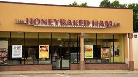HoneyBaked Ham store Stock Photography