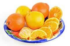 Honeybell Oranges Royalty Free Stock Photo