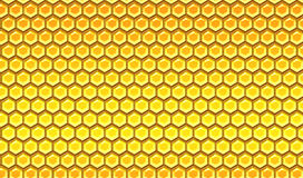 Honeycomb. Shinny honeycomb texture for backgrounds royalty free illustration