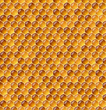 Honeycomb. Seamless vector illustration of honeycomb Royalty Free Stock Photography