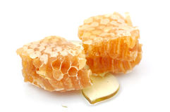 Honeycomb. Isolated on the white Royalty Free Stock Images