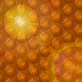 Honeycomb abstract background Royalty Free Stock Images