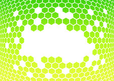 Honeycomb abstract background royalty free illustration
