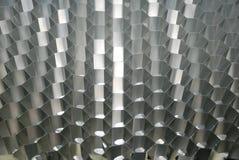 Honeycomb aluminium structure Stock Images