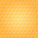 Honeycomb as vector background Royalty Free Stock Photos