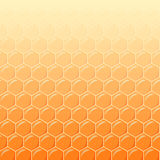 Honeycomb as vector background Stock Photos