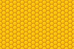 Honeycomb - background. This associative picture on a very sweet natural, therapeutic product in a vector format. It can be used as background Stock Photos