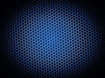Honeycomb Background Blue Royalty Free Stock Photo