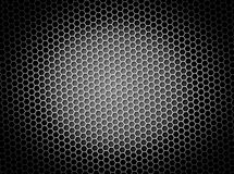 Honeycomb Background BW Stock Photography