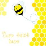 Honeycomb background Royalty Free Stock Image
