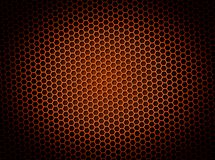 Honeycomb Background Red Stock Photography