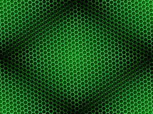 Honeycomb Background Seamless Green Royalty Free Stock Photo