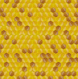 Honeycomb background seamless pattern Royalty Free Stock Photo