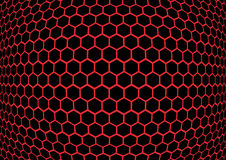 Honeycomb background texture Stock Photography