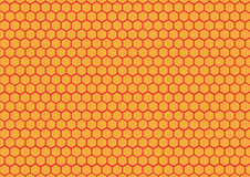 Honeycomb background texture Stock Photography