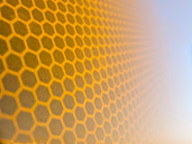 Honeycomb background texture Royalty Free Stock Images