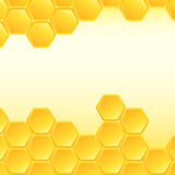 Honeycomb background. Stock Images