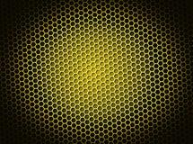 Honeycomb Background Yellow Stock Photo