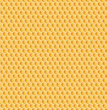 Honeycomb or bee honey comb seamless texture royalty free stock photo