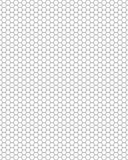 honeycomb bezszwowy deseniowy Zdjęcia Stock