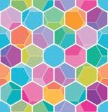 honeycomb bezszwowy deseniowy Obraz Royalty Free