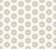 honeycomb bezszwowy deseniowy Projektuje element dla druków, dekoracja, tkanina, meble, cyfrowy, sieć Zdjęcia Royalty Free
