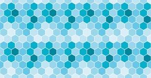honeycomb bezszwowy deseniowy Wektorowy tło ilustracji