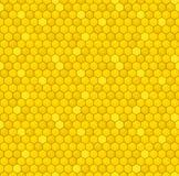 Honeycomb bezszwowy wzór royalty ilustracja