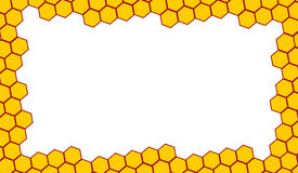 Bee Hive Border Stock Vector Illustration Of Pattern 13720517