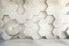 Honeycomb chair Royalty Free Stock Photography