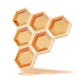 Honeycomb close up Royalty Free Stock Images