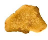 Honeycomb close up. Isolated on white background Royalty Free Stock Photography