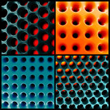 Honeycomb 3d structure Royalty Free Stock Photos