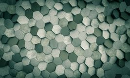 Honeycomb, 3d wall texture royalty free stock photos