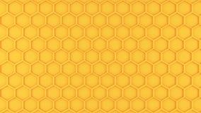 Honeycomb deseniowa grafika royalty ilustracja