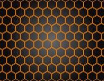 Honeycomb deseniowy tło Zdjęcie Royalty Free