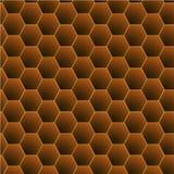 Honeycomb deseniowy wektor ilustracji
