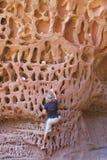 Honeycomb gorge, Kennedy Ranges National Park, Western Australia Royalty Free Stock Photo