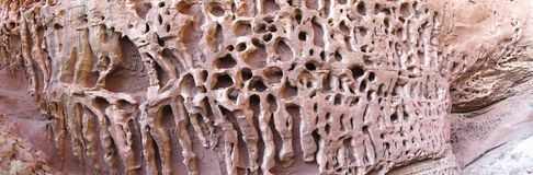 Honeycomb gorge, Kennedy Ranges National Park, Western Australia Stock Images