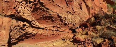 Honeycomb gorge, Kennedy Ranges National Park, Western Australia Stock Photos