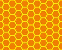 Honeycomb grid royalty free stock photos
