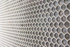 Honeycomb grid Stock Image