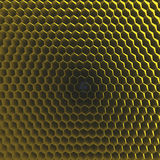 Honeycomb grid texture Stock Photography