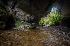 Honeycomb Hill Arch, New Zealand Royalty Free Stock Photos