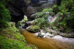Honeycomb Hill Arch, New Zealand Royalty Free Stock Photo