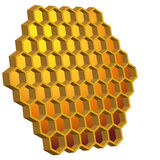 Honeycomb Hive. An image of a honeycomb beehive Royalty Free Stock Photo